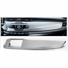 Mascherina supporto autoradio 2 DIN per ALFA ROMEO Giulietta fascia grigio