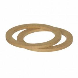 Supporti distanziali per casse altoparlanti 16,5 cm da 8 mm in legno MDF