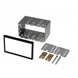 P2ISO plancia per autoradio 2 DIN 2 ISO 182 x 113 mm