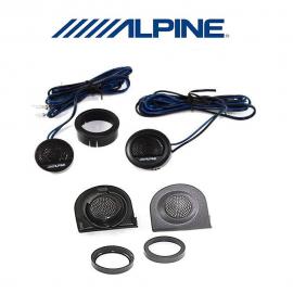 Alpine SXE-1006TW Coppia tweeter+ supporti griglie FIAT panda