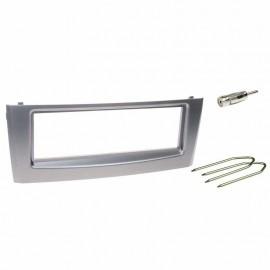 Kit montaggio mascherina adattatore autoradio stereo Fiat Grande Punto grigio