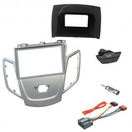 Kit montaggio mascherina adattatore autoradio 2 DIN FORD FIESTA 2008