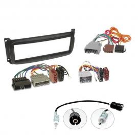 Kit montaggio mascherina adattatore connettore autoradio 1 DINChrysler / Dodge /