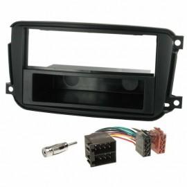 Kit montaggio autoradio mascherina 1 DIN  per  Smart Car ForTwo dal  2010