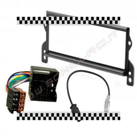 Kit montaggio mascherina adattatore connettore autoradio 1 DIN Mini Cooper 2000