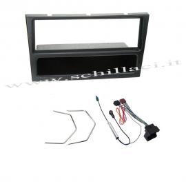 Kit montaggio mascherina adattatore connettore autoradio 1 DIN Opel Agila / Cors