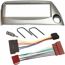 Kit montage Cadre de radio 1 DIN Ford Ka gris cable iso + adaptateur d'antenn...