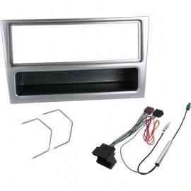 Kit montaggio mascherina adattatore autoradio per OPEL stereo silver 1 DIN