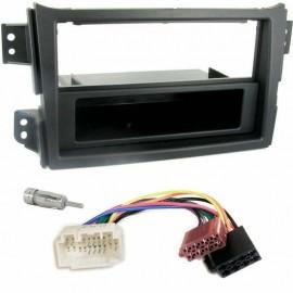 Kit montaggio mascherina adattatore connettore autoradio 1 DIN Opel Agila Kit in