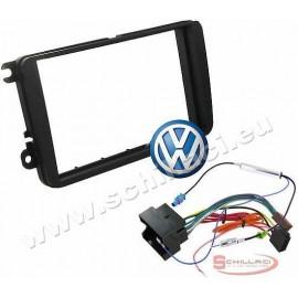 Kit installazione autoradio mascherina adattatore e connettore per Volkswagen SE