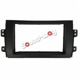 Supporto adattatore per autoradio 2 DIN per FIAT sedici 16 / suzuki SX4
