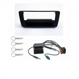 Mascherina supporto autoradio 1 DIN per AUDI A1